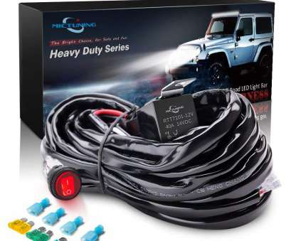 how to wire a light bar to your battery Amazon.com: MICTUNING HD 300w, Light, Wiring Harness Fuse 40Amp Relay ON-OFF Waterproof Switch(1Lead): Automotive How To Wire A Light, To Your Battery Perfect Amazon.Com: MICTUNING HD 300W, Light, Wiring Harness Fuse 40Amp Relay ON-OFF Waterproof Switch(1Lead): Automotive Solutions