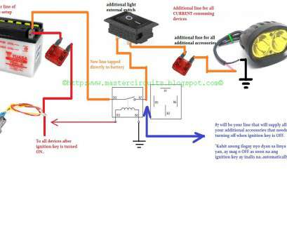 how to wire a light bar to your battery ... Motorcycle Light, Wiring Diagram -, Wiring Diagrams, on light, switch harness How To Wire A Light, To Your Battery Practical ... Motorcycle Light, Wiring Diagram -, Wiring Diagrams, On Light, Switch Harness Galleries