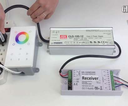 How To Wire A Light Transformer New How To Connect Color Changing, Strip Light To, Wireless Controller, Transformer Collections