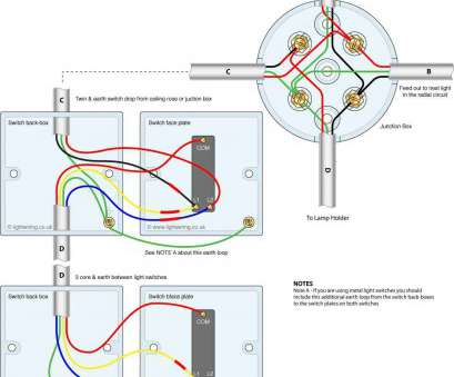 how to wire a light and two switches 1, Light, Switch Wiring Diagram, To Wire A Double In 2 Lights 13 Brilliant How To Wire A Light, Two Switches Images