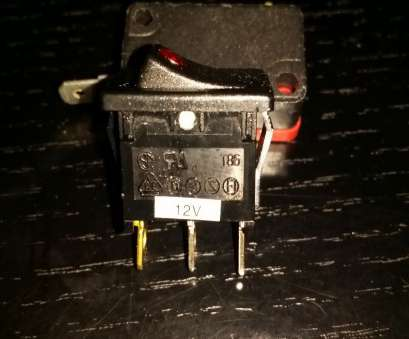 how to wire a switch up How to Hook-up an LED-Lit Rocker Switch with 115V AC Power W/o How To Wire A Switch Up Cleaver How To Hook-Up An LED-Lit Rocker Switch With 115V AC Power W/O Photos