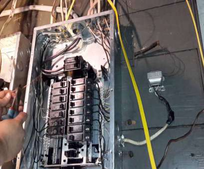 how to wire an electrical outlet from a circuit breaker box Diy adding a, wire, breaker to breaker box How To Wire An Electrical Outlet From A Circuit Breaker Box Cleaver Diy Adding A, Wire, Breaker To Breaker Box Galleries