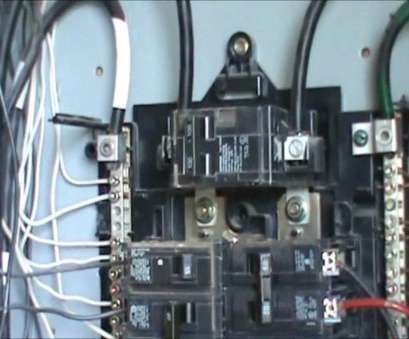 how to wire an electrical outlet from a circuit breaker box How to wire a, volt circuit, Description How To Wire An Electrical Outlet From A Circuit Breaker Box Top How To Wire A, Volt Circuit, Description Photos