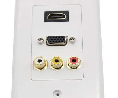 how to wire hdmi wall outlet Amazon.com: Multifunction Hdmi, 3RCA Combo Home TV AV Outlet Audio Video Wall Plate Face Cover Plate Panel(1 Hdmi+ 3, + 1 Vga)-white: Home Improvement How To Wire Hdmi Wall Outlet Professional Amazon.Com: Multifunction Hdmi, 3RCA Combo Home TV AV Outlet Audio Video Wall Plate Face Cover Plate Panel(1 Hdmi+ 3, + 1 Vga)-White: Home Improvement Solutions