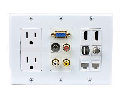 how to wire hdmi wall outlet Home / Wall Plates/ Custom Wall plate / Multipurpose design 2x Power Outlet 2x HDMI 1x, 3x, 2x Cat6 1x 3.5MM 1xVGA, type Wall Plate How To Wire Hdmi Wall Outlet Top Home / Wall Plates/ Custom Wall Plate / Multipurpose Design 2X Power Outlet 2X HDMI 1X, 3X, 2X Cat6 1X 3.5MM 1XVGA, Type Wall Plate Photos