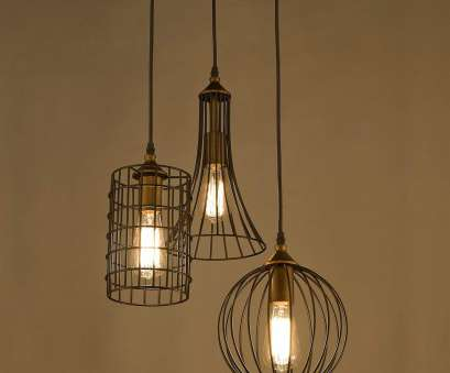 how to wire a 3 light chandelier YOBO Lighting Antique 3-lights, Rubbed Bronze Chandelier with Wire Cage, Amazon.com 13 Practical How To Wire, Light Chandelier Solutions