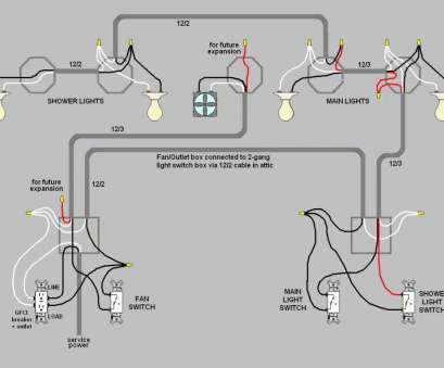 20 Practical How To Wire, Light Switches On, Circuit Collections