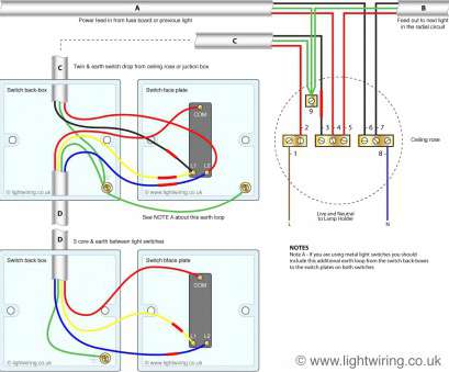 How To Wire, Switch Light Socket Brilliant ... Cable ...