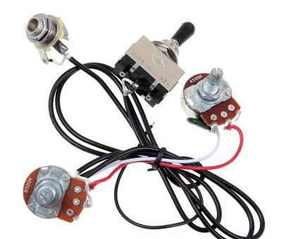 how to wire a 3 way double toggle switch Amazon.com: Kmise MI0321 Guitar Wiring Harness Prewired, Pickup 500K Pots 3-Way Toggle Switch Chrome: Musical Instruments How To Wire, Way Double Toggle Switch Nice Amazon.Com: Kmise MI0321 Guitar Wiring Harness Prewired, Pickup 500K Pots 3-Way Toggle Switch Chrome: Musical Instruments Pictures