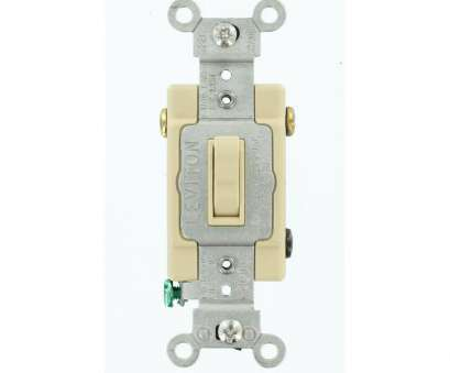 how to wire a 3 way double toggle switch Leviton 15, 3-Way Double Toggle Switch, Ivory-5241-IKS, The How To Wire, Way Double Toggle Switch Top Leviton 15, 3-Way Double Toggle Switch, Ivory-5241-IKS, The Collections