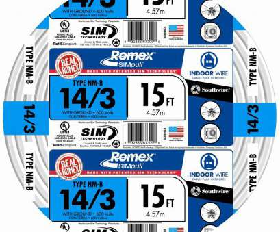 how to wire a 3 way switch with 14-3 Southwire, ft. 14/3 Solid Romex SIMpull CU NM-B, Wire How To Wire, Way Switch With 14-3 Creative Southwire, Ft. 14/3 Solid Romex SIMpull CU NM-B, Wire Solutions