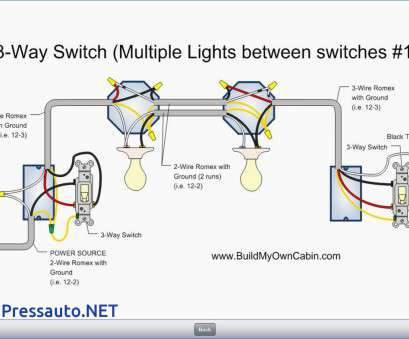 20 Nice How To Wire, Way Switch With Multiple Lights Diagram Pictures
