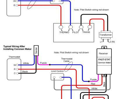 idevices thermostat wiring diagram Fast-STAT Common Maker Thermostat Wire Extender (Adds a Common
