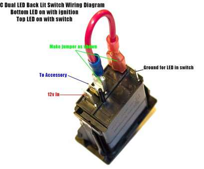 Illuminated Toggle Switch Wiring Diagram Top ... Delighted ...