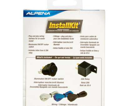 install a switch kit Alpena Universal Automortive Install, On/Off rocker Switch 20amp Relay 3 Wiring Harness, Walmart.com Install A Switch Kit Most Alpena Universal Automortive Install, On/Off Rocker Switch 20Amp Relay 3 Wiring Harness, Walmart.Com Images