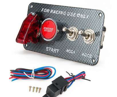 install a switch kit NEW aluminum+ABS Racing, Electronics, Switch, Panel Engine Start Button toggle with accessory EP-RSK3014 Install A Switch Kit Fantastic NEW Aluminum+ABS Racing, Electronics, Switch, Panel Engine Start Button Toggle With Accessory EP-RSK3014 Photos