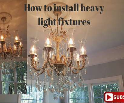 install light fixture high ceiling How to install a heavy light fixture, YouTube, how to install a Install Light Fixture High Ceiling Popular How To Install A Heavy Light Fixture, YouTube, How To Install A Collections