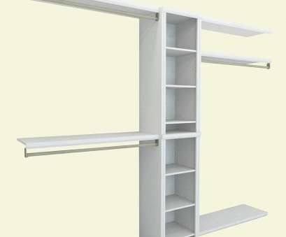 installation of rubbermaid wire shelving Best Overall: ClosetMaid Impressions Closet System Installation Of Rubbermaid Wire Shelving Fantastic Best Overall: ClosetMaid Impressions Closet System Ideas