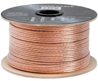 is 24 gauge speaker wire ok 14AWG Clear Jacket Loud Speaker Wire Cable, 300 Feet Is 24 Gauge Speaker Wire Ok Popular 14AWG Clear Jacket Loud Speaker Wire Cable, 300 Feet Photos