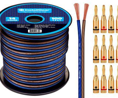 is 24 gauge speaker wire ok Get Quotations · InstallGear 14 Gauge, 100ft Speaker Wire Cable with 12, Screw Banana Plugs Is 24 Gauge Speaker Wire Ok Nice Get Quotations · InstallGear 14 Gauge, 100Ft Speaker Wire Cable With 12, Screw Banana Plugs Images