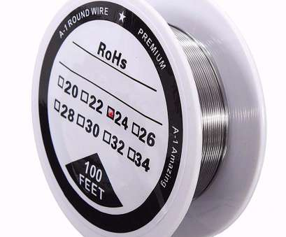 kanthal a1 wire 24 gauge 100ft 24 Gauge, A1 Kanthal Round Heating Resistance Wire 0.51mm Kanthal A1 Wire 24 Gauge Professional 100Ft 24 Gauge, A1 Kanthal Round Heating Resistance Wire 0.51Mm Collections