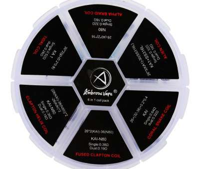 kanthal a1 wire 24 gauge Get Quotations · Ambrose 6 in 1 Prebuilt Resistance Wire, coils 24, Kanthal A1+SS316L+ Kanthal A1 Wire 24 Gauge Practical Get Quotations · Ambrose 6 In 1 Prebuilt Resistance Wire, Coils 24, Kanthal A1+SS316L+ Galleries