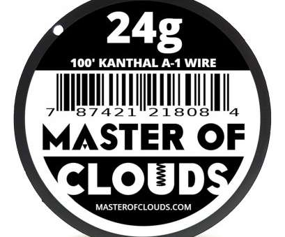 kanthal a1 wire 24 gauge Master Of Clouds CECOMINOD015823, FT 22 Gauge Kanthal A1 Resistance Wire, eBay Kanthal A1 Wire 24 Gauge Best Master Of Clouds CECOMINOD015823, FT 22 Gauge Kanthal A1 Resistance Wire, EBay Ideas