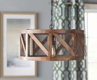 kennedy wood and wire pendant light Tiefort 1-Light Pendant Kennedy Wood, Wire Pendant Light Cleaver Tiefort 1-Light Pendant Photos