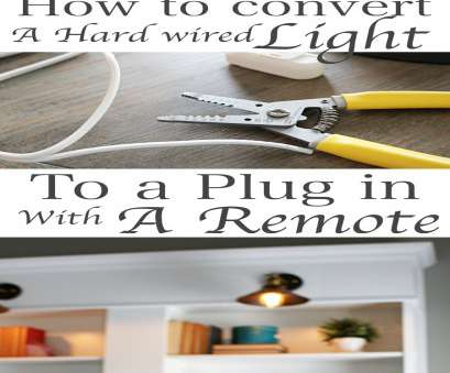 light switch wiring to plug How to convert Multiple hard wired light fixtures into a plug in with, switch Light Switch Wiring To Plug Professional How To Convert Multiple Hard Wired Light Fixtures Into A Plug In With, Switch Solutions