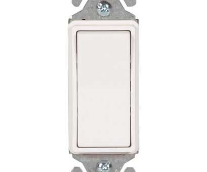 lighted rocker switch wiring Eaton 15, 120-Volt/277-Volt Heavy-Duty Grade Single-Pole Decorator Lighted Rocker Switch with Back, Push Wire in White-7511W-BOX -, Home Depot Lighted Rocker Switch Wiring Brilliant Eaton 15, 120-Volt/277-Volt Heavy-Duty Grade Single-Pole Decorator Lighted Rocker Switch With Back, Push Wire In White-7511W-BOX -, Home Depot Collections