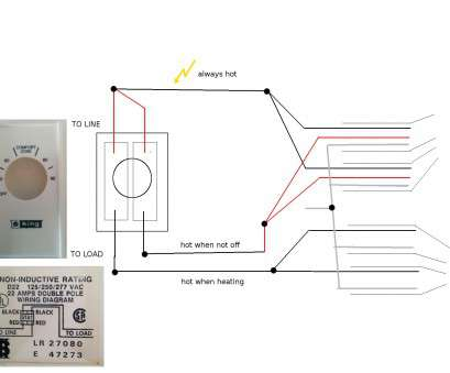 15 Creative Line Voltage Thermostat Wiring Diagram Collections