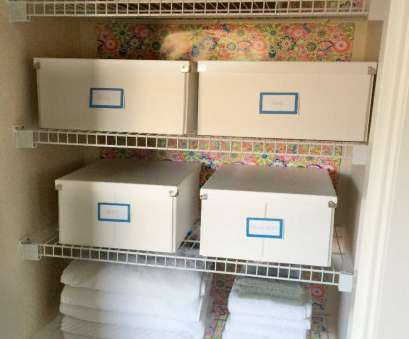 linen closet wire shelving Linen closet organization with versatile boxes. A great, to contain linens, toiletries! Linen Closet Wire Shelving Top Linen Closet Organization With Versatile Boxes. A Great, To Contain Linens, Toiletries! Images