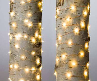 Live Wire Electric Virginia Perfect Firefly String Lights,, Warm White LEDs On Bendable Wire, Electric, 40' Images