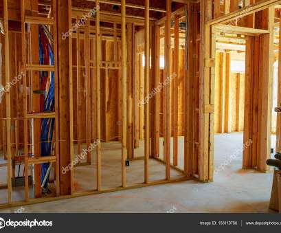log home electrical wiring Framed building or residential home with basic electrical wiring complete., Stock Photo Log Home Electrical Wiring Professional Framed Building Or Residential Home With Basic Electrical Wiring Complete., Stock Photo Images