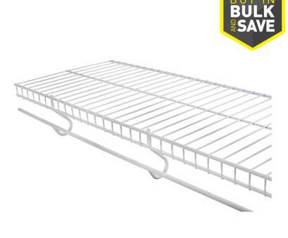 lowes.com wire shelving Rubbermaid FreeSlide 8-ft x 12-in White Wire Shelf 9 New Lowes.Com Wire Shelving Ideas