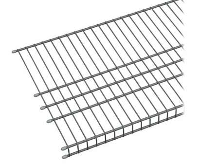 lowes wire shelving closetmaid Shop ClosetMaid 6-ft, 16-in D Charcoal Wire Shelf at Lowes.com 9 Most Lowes Wire Shelving Closetmaid Photos