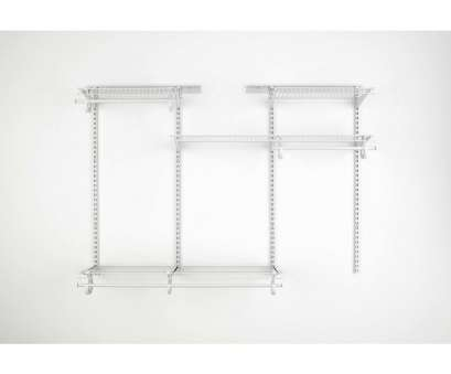 lowes wire shelving kits ClosetMaid 4-ft to 6-ft White Adjustable Mount Wire Shelving Kits Lowes Wire Shelving Kits Perfect ClosetMaid 4-Ft To 6-Ft White Adjustable Mount Wire Shelving Kits Ideas