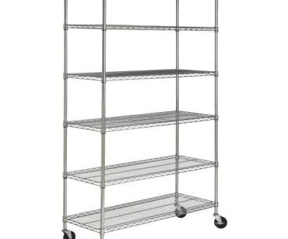 16 Practical Lowes Wire Shelving On Wheels Collections