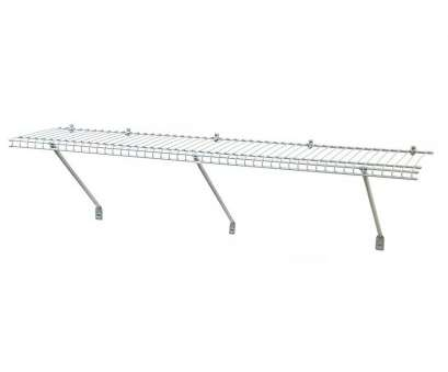 lowes wire wall shelves Shop ClosetMaid 48-in, 1-in, 12-in D Wire Wall Mounted 17 Practical Lowes Wire Wall Shelves Photos