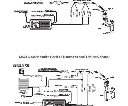 Msd, Wiring Diagram Gm Hei Top ..., 6 Series With Ford, Harness With Timing Control Pictures