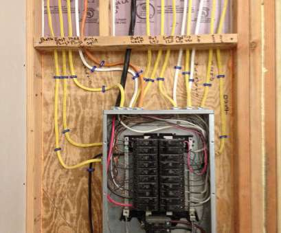neat electrical panel wiring Discussion of installing a garage subpanel with several tips, success Neat Electrical Panel Wiring New Discussion Of Installing A Garage Subpanel With Several Tips, Success Ideas