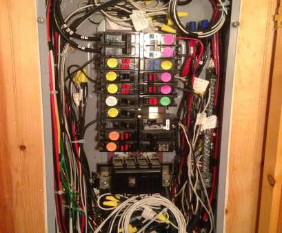 neat electrical panel wiring Only, panel in, basement is powered by, generator. This system prevents my generator from back feeding into, utility power distribution system Neat Electrical Panel Wiring New Only, Panel In, Basement Is Powered By, Generator. This System Prevents My Generator From Back Feeding Into, Utility Power Distribution System Solutions