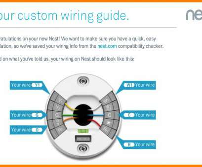 8 Simple Nest Wiring Diagram 3 Wire Images