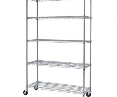 17 Perfect Outdoor Wire Shelving Rack Pictures