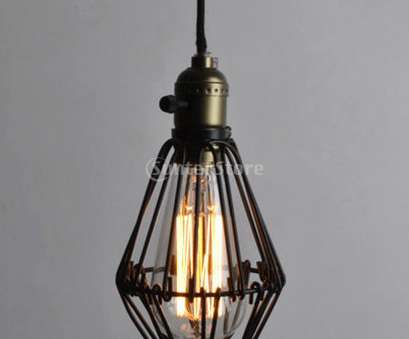 Pendant Light Wire Clamp Creative 2018 Wholesale, Arrivals 2015 Iron Hanging Lamp Cages Shade No Wire Pendant Light, Antique Brass From Caraa, $22.43, Dhgate.Com Solutions