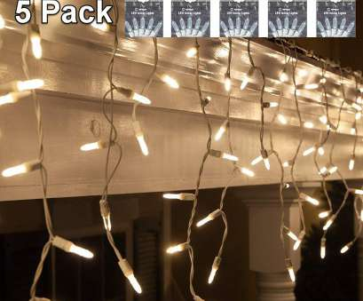 philips christmas lights white wire Get Quotations ·, Icicle Lights Warm Lights, Pack Christmas Outdoor -Indoor, Clear Mini Sting 19 Popular Philips Christmas Lights White Wire Collections