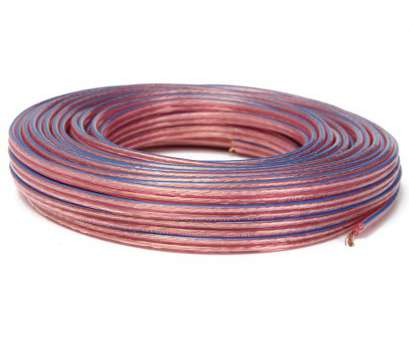 purity of copper electrical wire KROAK, Loud Speaker Cable Audio Wire 99.99% high Purity Oxgen Free Copper Conductor 2x0.75 Square Millimeter-in Cables, Adapters & Sockets from 8 Popular Purity Of Copper Electrical Wire Solutions