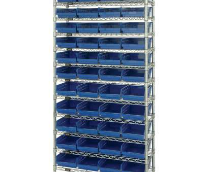 18 New Quantum Chrome Wire Shelving Solutions