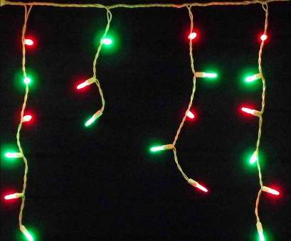 Red Icicle Lights Green Wire Brilliant Encouragement, For Large Size, Red Green, Led Ideas