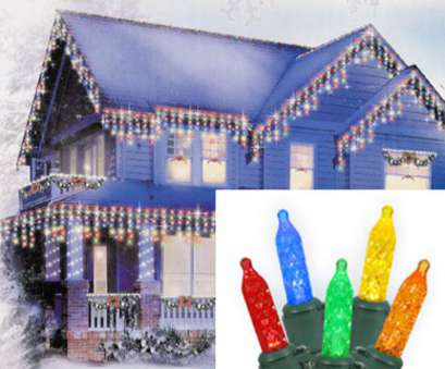 Red Icicle Lights Green Wire Practical Set Of 70 Multi-Color, M5 Icicle Christmas Lights, Green Wire, Walmart.Com Galleries